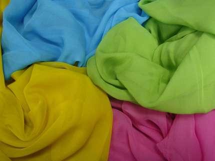 Шифон в ассортименте гладкоокрашенный свыше 30 цветов