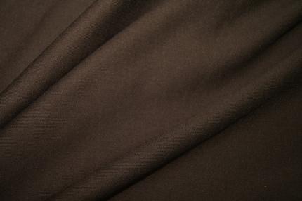 Трикотаж хлопковый футер коричневый