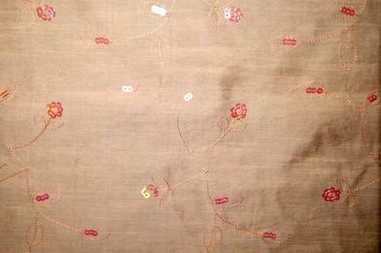 Ткань плательно-блузочная с пайетками