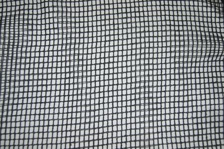 Сетка театральная черная 0,5 см *0,5 см