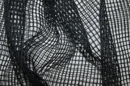 Сетка театральная черная 0,5 см*0,5 см