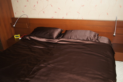 Шелковое постельное бельё