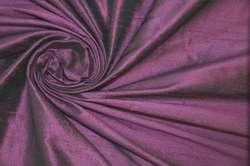 Дикий шелк дюпион (шантунг) фиолетовый
