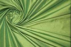 Дикий шелк дюпион (шантунг) зеленый