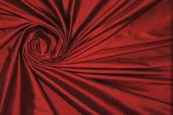 Дикий шелк дюпион (шантунг) темно-красный
