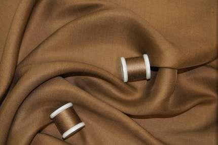 Тусса шелковая коричневая