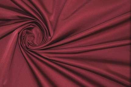 Атлас шелковый корсетный дюшес малиновый
