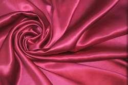 Атлас шелковый лилово-розовый