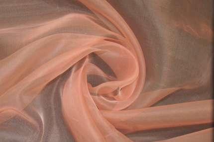 Атлас шелковый серый