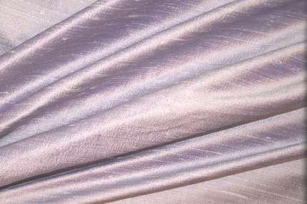 Дикий шелк дюпион (шантунг) лавандовый