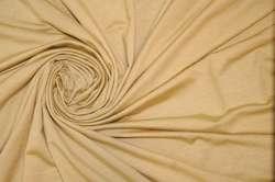 Трикотаж вискозный тонкий песочный