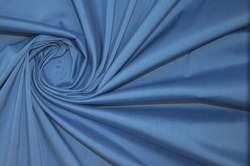 Хлопок стрейч плательно-сорочечный темно-голубой