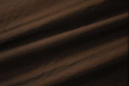 Дикий шёлк дюпион (шантунг) тёмно-коричневый