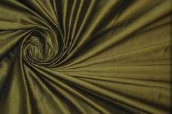 Дикий шёлк дюпион (шантунг) зелёный