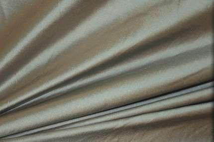 Дикий шёлк дюпион (шантунг) медно-голубой хамелеон