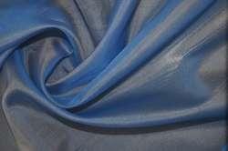 Органза шелковая васильковая