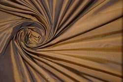 Тафта шелковая цвета табака