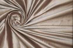 Дикий шёлк дюпион (шантунг) тёмный бежево-розовый