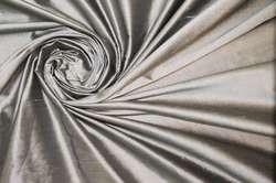 Дикий шелк дюпион (шантунг) светлый металлик
