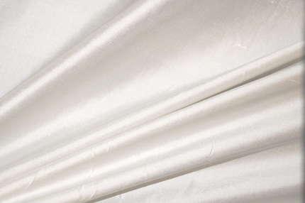 Дикий шелк дюпион (шантунг) молочный