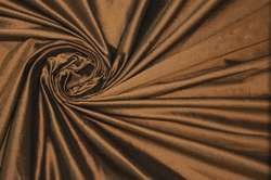 Дикий шелк дюпион (шантунг) коричневый