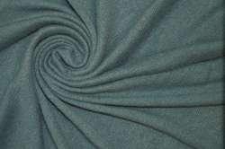 Трикотаж шерстяной пыльный бирюзовый