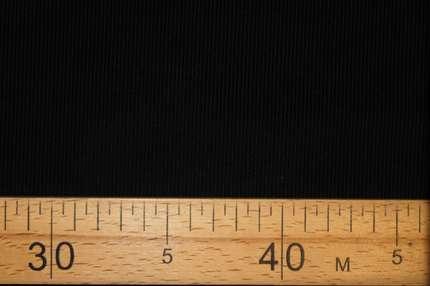 Микровельвет хлопковый черно-синий