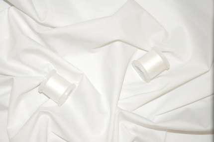Хлопок сорочечный белый стрейч