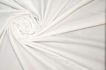 Хлопок сорочечный стрейч белый