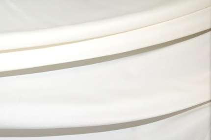 Креп-сатин вискозный белый