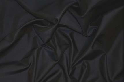Тафта шелковая тёмно-синяя