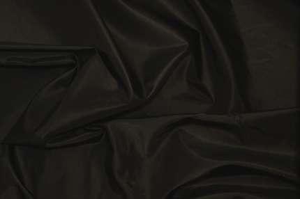Тафта шелковая черная