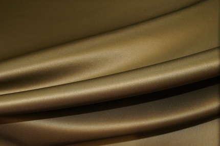 Атлас шелковый корсетный двухстронний оливковый