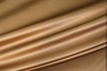 Атлас шелковый капучино