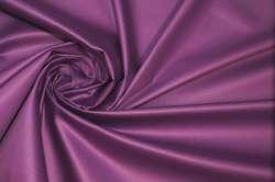 Атлас корсетный хлопковый фиолетовый