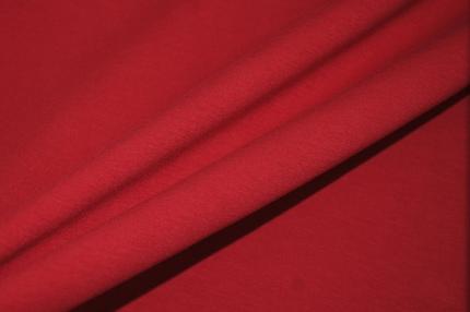 Трикотаж хлопковый красный