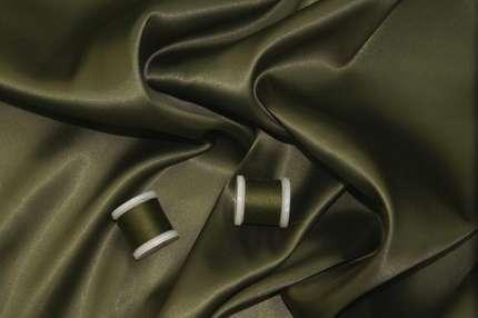 Подкладочная вискоза тёмно-зеленая