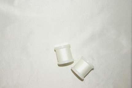 Тафта шелковая молочная