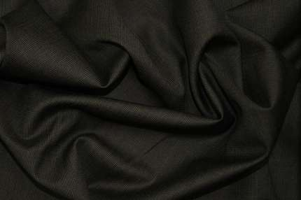 Шерсть плательно-костюмная тёмно-серая