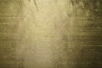 Дикий шелк дюпион (шантунг) оливковый