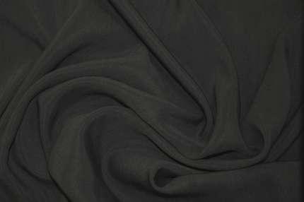 Купра шелковая тёмно-серая