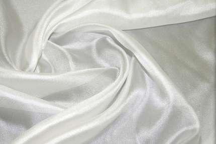 Сетка шелковая белая