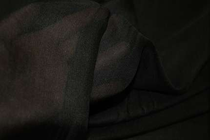 Сетка шелковая черная