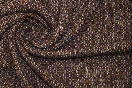 Шерсть пальтово-костюмная фактурная
