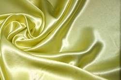 Атлас шелковый фактурный жёлтый