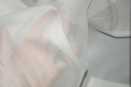 Сетка шелковая отбеленная