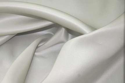 Органза шёлковая плотная светло-серая