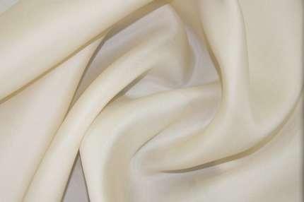 Органза шелковая плотная