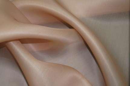 Органза шёлковая атласная