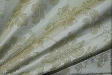 Дикий шёлк дюпион (шантунг) набивной